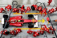 Ferrari F1 Formula One Automotive Car Wall Art Giclee Canvas Print Photo (207)