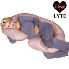 Coozly™ LYTE Salmon Pink Pregnancy C Body Pillow - New & Original Coozly™