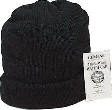 Cap, Watch Wool G.I. Black, 3 Pack