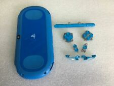 replacement shell ps vita slim psv2000 aqua blue buttons Trigger back housing