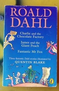 Roald Dahl Charlie & Chocolate Factory / Fantastic Mr Fox / James & Giant Peach