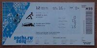 Winter Olympics 2014. Ticket ice-hockey woman tournament Canada - USA