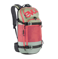 EVOC FR Pro Team Snow Protector 20L Hydration Pack Olive/Ruby ML