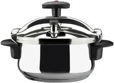 4 Qt Stainless Steel Stovetop Pressure Cooker Kitchen Cookware Steamer Pot NEW