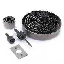 16pc Holesaw HOLE SAW KIT Wood Drywall Alloy 19-127mm Circle Drill Cutter Set