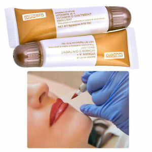 5/1 Vitamin A&D Ointment Tubes MICROBLADING TATTOO Aftercare Skin Healing cream