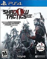 Shadow Tactics: Blades of the Shogun (Sony PlayStation 4, 2017)