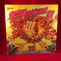 VARIOUS Chartblasters '81 1981 UK vinyl LP EXCELLENT CONDITION
