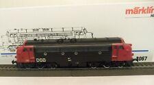 Märklin H0 3067 Diesellok BR My 1147 der DSB, rot/schwarz, Metallmodell   P25