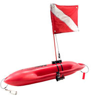 Lifeguard Float/Rescue Can For Marking Your Position While Diving / Spearfishing