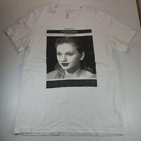 Taylor Swift Reputation Stadium Tour T-shirt Size L White