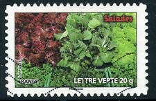 TIMBRE FRANCE AUTOADHESIF OBLITERE N° 740 / FLORE LEGUME / SALADES