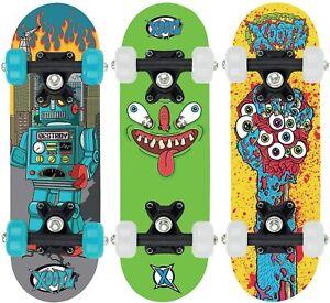Xootz Mini Skateboard (17 inch skateboard) Assorted Design - FREE & FAST SHIP