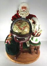"Santa Claus by the Leonardo Collection. 12"" Christmas Ornament/ Decoration"