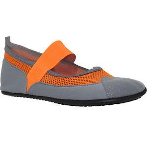 Women's Flat Mary Jane Water Yoga Sports Lightweight mesh Shoes Orange