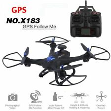 Drone 6-axes X183 With 2MP WiFi  HD Camera GPS Brushless Quadcopter C1