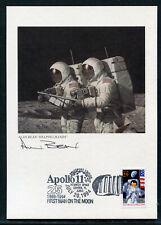 USA Alan Bean Helping Hands Grafik mit original Unterschrift / Weltraum. 2/10804