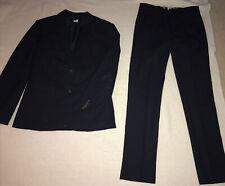 J Crew Crewcuts Boys Thompson Wool Navy Suit Blazer Jacket Pants - Size 16