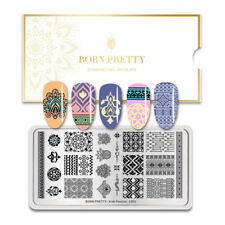 BORN PRETTY Nail Stamping Plate Stainless Steel Manicure Decor Arab Passion-L003