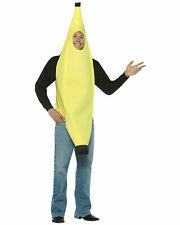 Rasta Imposta Men's Lightweight Banana Costume One Size Yellow Halloween New