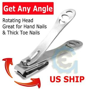Adjustable Toenail Clippers Thick Ingrown Toe Nails Heavy Duty Precision Nail