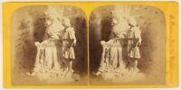 Braun Scultura Savoia Foto Stereo PL56L1n Vintage Albumina c1865