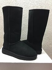 UGG CLASSIC TALL II BLACK WATER RESISTANT Boot US 9 / EU 40 / UK 7.5 - NEW