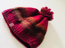 EAT ANTS - warme Mütze Bommel in rot pink  -  NEU Gr 52-54      217j