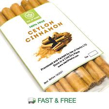 "100% Pure CEYLON CINNAMON Sticks NOT CASSIA ""True Cinnamon""  Real Taste & Aroma"