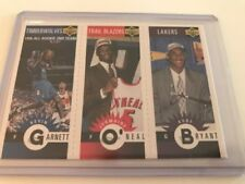 Kobe Bryant 1996-97 Season NBA Basketball Trading Cards