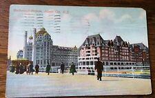 Antique Postcard Atlantic City New Jersey 1910 Marlborough Blenheim Color Card.