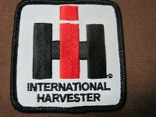 Farm Tractor Patch International Harvester Ih Tractor I H I-H Crest / Cap Size