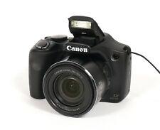 ** NO CHARGER ** Canon PowerShot SX530 HS 16MP Digital Camera - Black