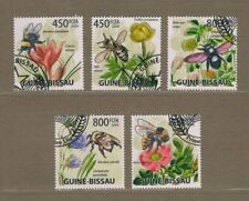 X484 S.TOME' E PRINCIPE: API E FIORI  splendida serie di francobolli