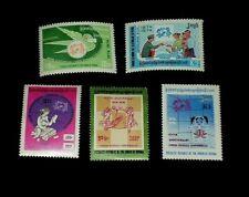 BURMA, #239-243, 1974, UNIVERSAL POSTAL UNION, SET/5, SINGLES, MNH, NICE! LQQK!