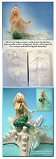 """Ava - 4 3/4"""" girl mermaid press mold and free instructional Cd by Patricia Rose"""