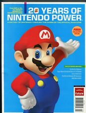 2009 20 Years of Nintendo Power Magazine NES to Wii Super Mario Zelda Pokemon