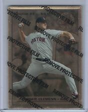 1996 Leaf Preferred Steel Gold ROGER CLEMENS #63  (B3903)
