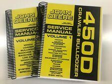 Service Manual For John Deere 450d Crawler Bulldozer Tm 1291 908 Pages