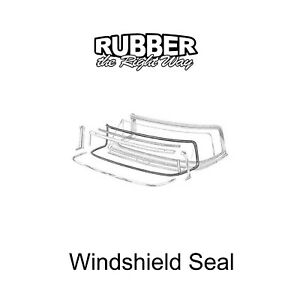 1955 1956 Ford & Mercury Convertible Windshield Seal