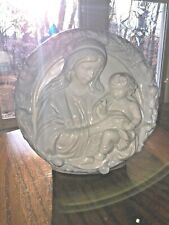 "Madonna Mother and Child Schmid Music Box  ""Ave Maria"" 1988 Santini Italy"