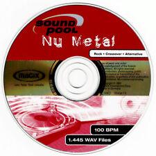 MAGIX / Soundpool NU METAL / Sampling-CD / WAV / 650+ MB / Nur CD