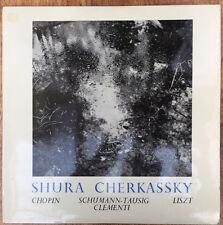 Shura Cherkassky Chopin, Schumann-Tausig, Liszt, Clementi UK LP
