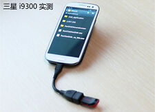 for HTC Samsung LG Micro USB 2.0 A Female to B Male Converter OTG Adapter Cable