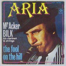 Interprètes Beatles 45 tours Mr Acker Bilk The fool on the hill 1976