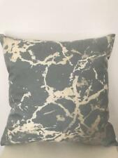 Art Abstract Pale Green Beige Marble Velvet Look Soft Pillow Cushion Cover 45cm