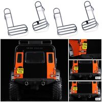 Metal Rear Tail Light Lamp Guard Cover For 1/10 Traxxas TRX4 Land Rover Defender