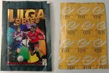EDICIONES ESTE 1998 / 1999: SOBRE SIN ABRIR, NUEVO, PERFECTO ESTADO LIGA 98 / 99