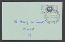 South Africa Sc 219 on 1959 Academy of Science & Art cover, Stellenbosch cancel