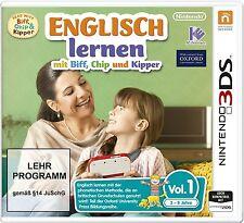 Nintendo 3DS Dual Screen Spiel Englisch lernen mit Biff, Chip und & Kipper Vol.1